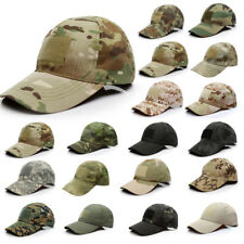 Outdoor Tactical Cap Sports Magic Stickers Camouflage Baseball Cap Hat unisex