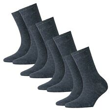 Burlington 4 Pares Calcetines Mujer, Ladywell, con Lurex, Cotton-Blend, Onesize