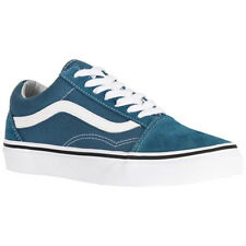 Vans Old Skool Suede Canvas Womens Mens Low-Top Lace-Up Unisex Trainers