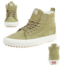 21b2ab4b700478 Vans Classic SK8-HI MTE Winter Trainers Shoes Leather VN0A66TXUC31 Beige