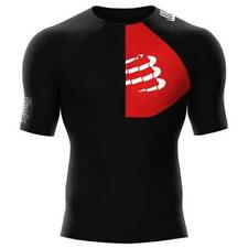 Compressport Triathlon Postural Aero S/s Top Black , Magliette Compressport