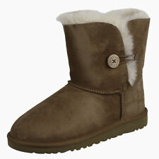 UGG Toddlers Bailey Button Boot 5991Y Shoes Chestnut