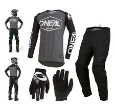 Oneal Hexx Combo 2019 Negro Enduro Pantalones Cross Mx Jersey Guantes