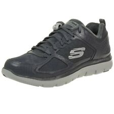 Skechers Flex Appeal 2.0 Suave Shock Mujer Zapatos para Fitness Skech Gris Minu