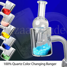 100% Quartz Thermal Banger   Color Changing Thermochromic   ALL Sizes   Carb Cap