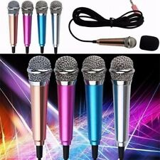 Karaoke 3.5mm Wired Mini Microphone Condenser For Computer Android Smartphones