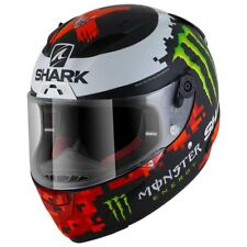 Shark Race-r Lorenzo Monster Mat Black / Red / Green , Cascos Shark , moto