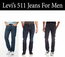 NEW STYLISH LEVIS 511 DENIM JEANS FOR MEN SLIM FIT PANTS