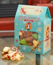 Happy Dog Meal Treat Boxes Bacon Cheeseburger Pizza & Yogurt Cookies Resembles
