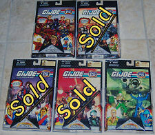 "GI Joe 25th Anniversary Comic 2-Pack with 3 3/4"" Figures Pick Your Own Set MOC"
