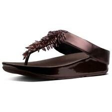 Fitflop Rumba Toe-thong Berry , Infradito Fitflop , moda , Scarpe Donna