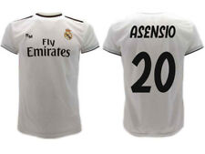 Camiseta Real Madrid Asensio 2019 Oficial Uniforme 2018 Marco 20 Home Bianca