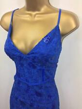 LIPSY Michelle Keegan Cobalt Blue Sequin Embroidered Evening Party DRESS BNWT