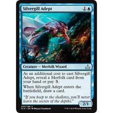 Silvergill Adept - Rivals of Ixalan - Magic: the Gathering