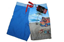 BEAR - COSTUME BOY BERMUDA JUNIOR - S9HB0006-609 DIRECTOIRE BLUE - BOARD SHORTS