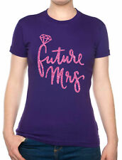 Future Mrs Wedding Gift Hen Party Marriage Wedding Funny Ladies T-Shirt