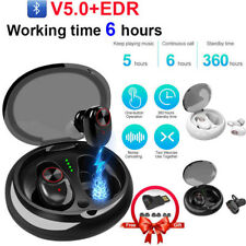 Mini True Wireless Bluetooth 5.0+EDR Twins Stereo In-Ear Headset Earphone Earbud