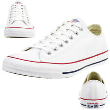 Converse C Taylor all Star Ox Chuck Leather Shoes Sneakers White 132173C