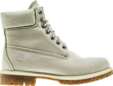 """Timberland Mens 6"""" Inch Premium Canvas Taupe Boots TB0A1LWM"""