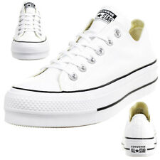 19143dfd7f3 Converse C Taylor all Star Lift Ox Chuck Platform Shoes Canvas White 560251C