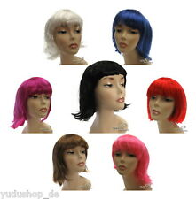 Carnaval/Party Perruque Cheveux Courts Costume de Carnaval Unisexe