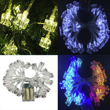 3M 30LED Ice Cube String Lights Battery Operated Wire Fairy Lights Xmas Party RS