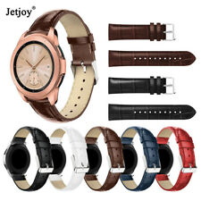 20/22mm Genuine Leather Band Strap For Samsung Galaxy Watch 42 46mm Gear S3/S2