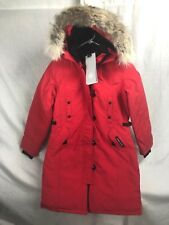 NEW CANADA GOOSE KENSINGTON PARKA RED WOMENS XS-XL DOWN AUTHENTIC HOLOGRAM