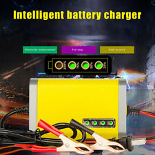 12V 2A Car Motorcycle Battery Charger Lead Acid AGM/GEL/LCD Display S0J6