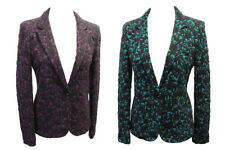Retro 1960's style GoGo Mod Scooter Twiggy BERRY and TEAL Jacket Blazer