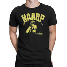 Mens T-Shirt PROJECT HAARP Control Conspiracy Theories Novelty Theory