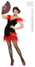 Ladies Womens Spanish Beauty Costume Outfit for Señorita Fancy Dress