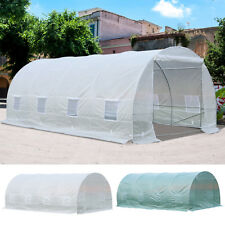 20x10x7ft Walk-in Large Tunnel Greenhouse Garden Warm House