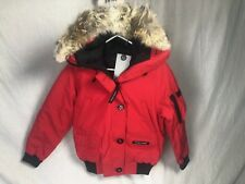NEW CANADA GOOSE CHILLIWACK BOMBER COAT WOMENS DOWN AUTHENTIC RED FUSION FIT