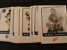 2001/02 Fleer Greats of the Game hockey pick or choose from available cards
