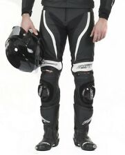 RST Tractech Evo II Leather Motorcycle Jeans / Trousers - White