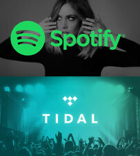SPOTIFY PERMIUM and TIDAL HiFi Account  - Fast delivery  - worldwide - WARRANTY