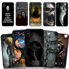 Halloween Skeleton Phone Case Cover For iPhone X 6/7/8+ &Samsung S7E S8/S9 Plus