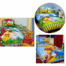 2 Pce Winnie The Pooh Licensed Quilt Cover Set by Disney - SINGLE DOUBLE