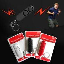 Anti Rape Dual Speakers Personal Alarm Alert Safety Security Protection keychain