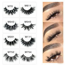 5D Mink Eyelashes Long Extension Natural Look False Lashes Eye Make Up HA