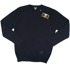 NEW Vintage 90's Gianni Versace Istante Mens Sweater!  Camel, Navy or Gray  RARE