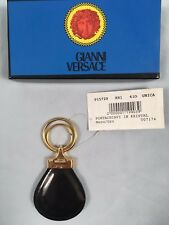 BRAND NEW IN BOX Vintage 90's Gianni Versace Leather Keychain!  Collectors Item