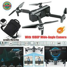 Dual GPS Drone Intelligent Quadcopter 1080P Wide-Angle Camera Drone + Backpack W