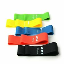 Rubber Resistance Elastic Training Band Stretch Exercise Fitness for Yoga Pilate