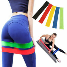 For Yoga Pilate Resistance Elastic Training Rubber Band Stretch Exercise Fitness