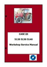 Case 5120 5130 5140 5150 Service Manual Repair Book Reparaturhandbuch