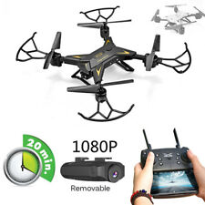 New RC Helicopter Drone Camera HD 640P/1080P WIFI FPV Selfie Foldable Quadcopter