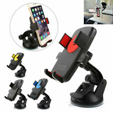 In Car Mobile Phone Holder for SAT PDA NAV GPS Locking Suction Mount in 4 Colors