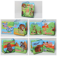 Intelligence development Cloth Bed Cognize Book Educational Toy for Kids Baby 1x